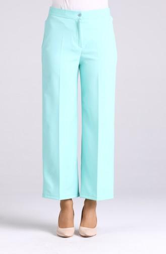 Pantalon Vert menthe 1108-11