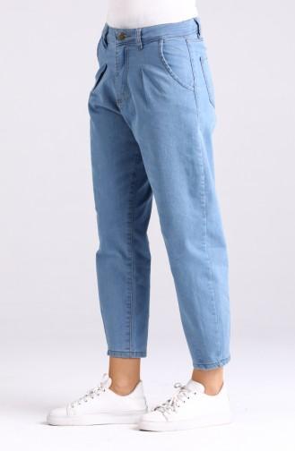 Jeansblau Hose 5010-01