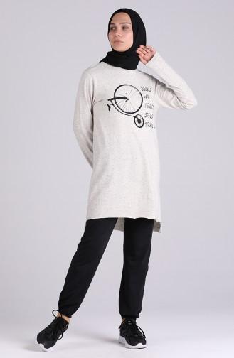 Gray Sweatsuit 1033-01