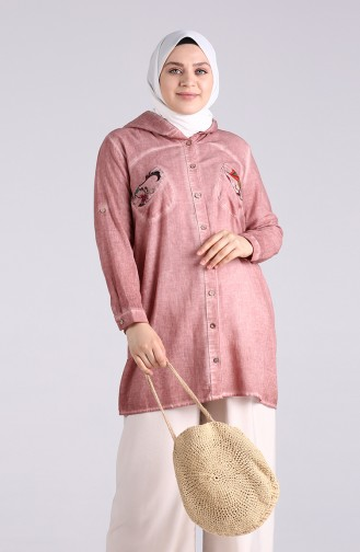 Beige-Rose Tunikas 1130-03