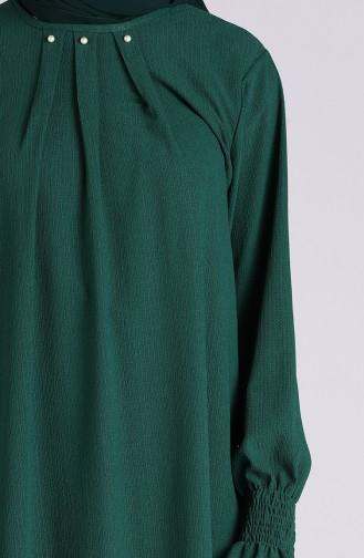 Tunique Vert emeraude 0102-04