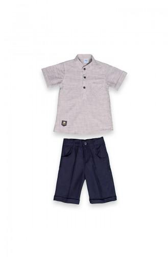 Dunkelblau Baby und Kinder Anzüge 09509-04