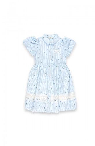 Hellblau Kinderbekleidung 09670-01