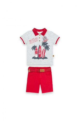 Red Baby & Kid Suit 09740-01