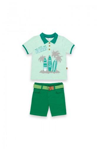 Ensembles Bébé et Enfant Vert 09740-02