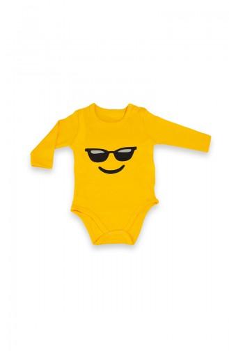 Body pour Bébé Jaune 09760-01