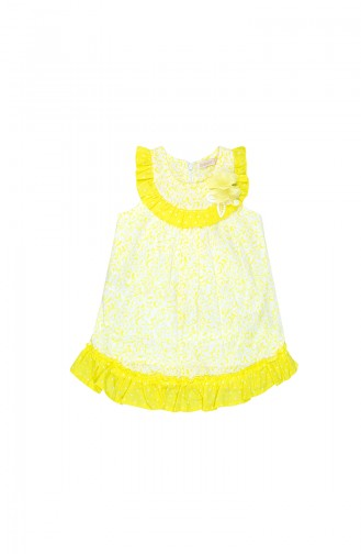 Robe Enfant Jaune 09790-04