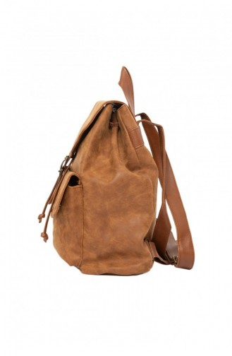 Tobacco Brown Back Pack 87001900031757