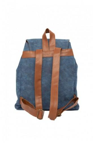 حقيبة ظهر أزرق كحلي 87001900031739