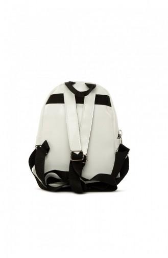 White Back Pack 87001900056543