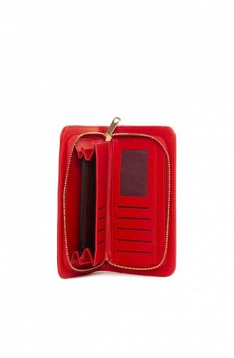 محفظة نقود أحمر 87001900049808