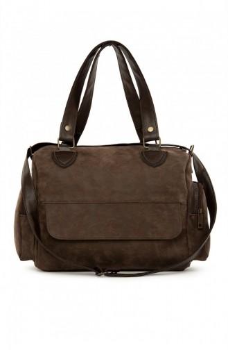 Brown Shoulder Bag 87001900054882