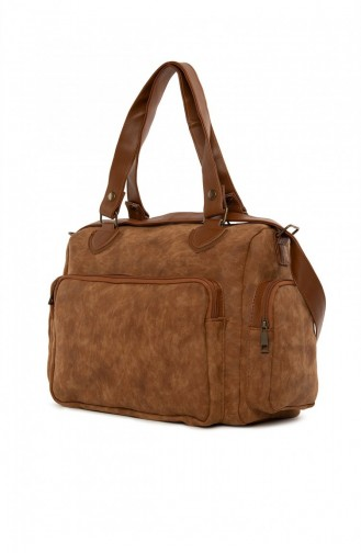 Tobacco Brown Shoulder Bag 87001900054907