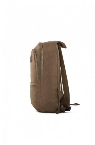 حقيبة ظهر بني مائل للرمادي 87001900053564