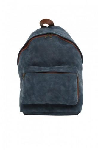 حقيبة ظهر أزرق كحلي 87001900038583