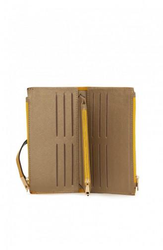محفظة نقود أصفر 87001900055933