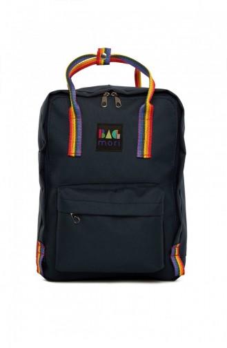 Navy Blue Back Pack 87001900051584