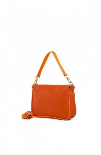 حقيبة كتف برتقالي 87001900055261