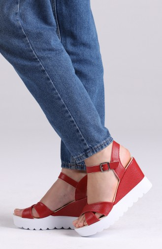 Chaussures a Talons Rouge 94805-5