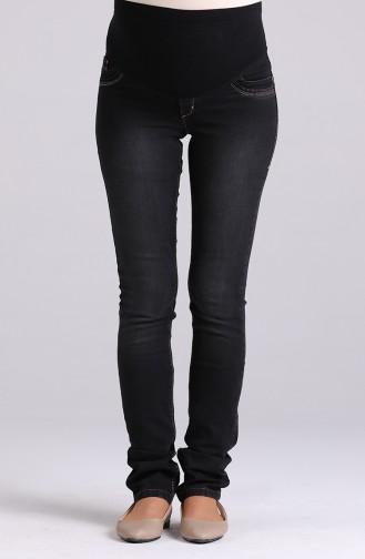 Pantalon Noir 0436-01