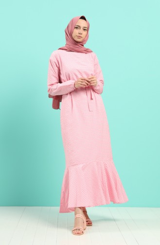 Robe Hijab Rose 4624-03