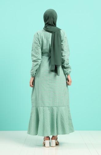 Robe Hijab Vert 4624-04