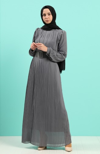 Robe Hijab Vert Moisi 7686-03