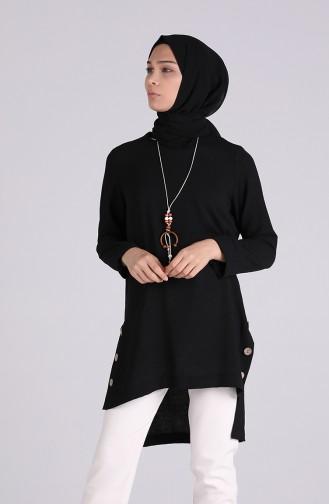 Blouse Noir 8007-04