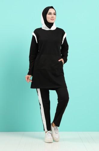 Black Sweatsuit 20025-01