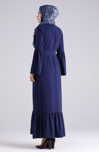 Abayas Bleu Marine 5074-01