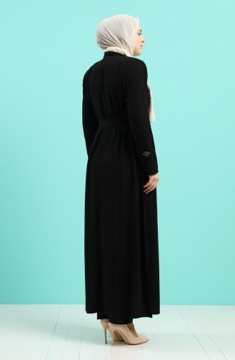 عباءه أسود 5941-01