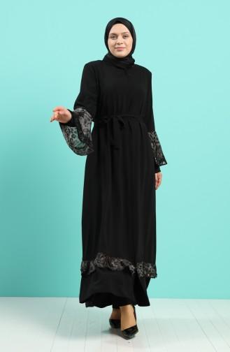 Abayas Noir 5955-01