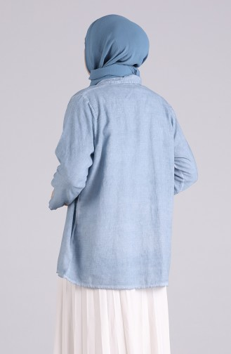Chemise Bleu 4007-08