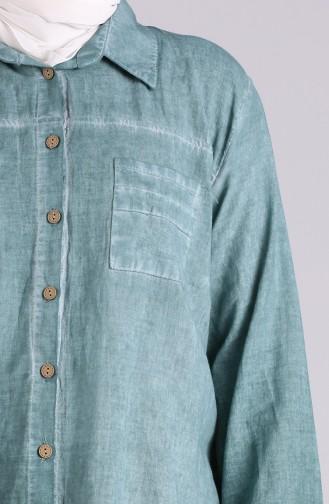 Grün Hemd 4007-09