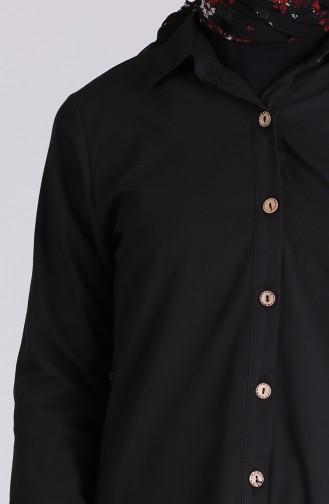 Schwarz Hemd 3071-05