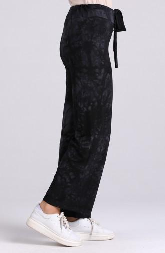 Pantalon Noir 0803-01