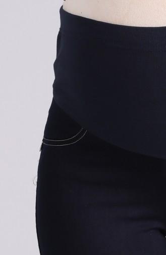 Pantalon Bleu Marine 0410-01
