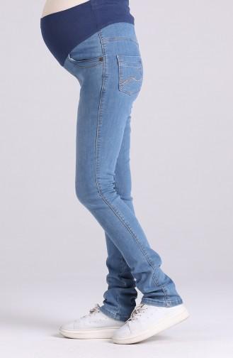 Hamile Kot Pantolon 2270-01 Kot Mavi