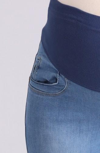 بنطال أزرق جينز 2270-01