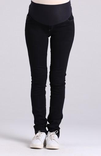 Pantalon Bleu Marine 2752-01