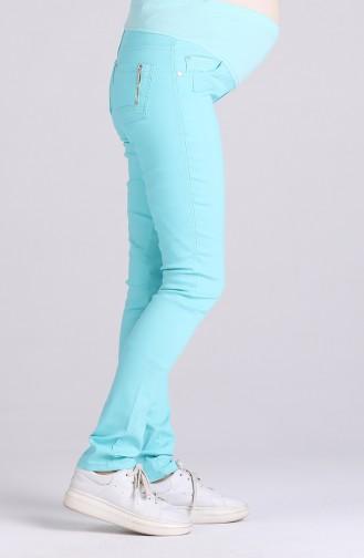 Pantalon Vert menthe 2961-01