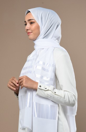 Châle Blanc 70137-14