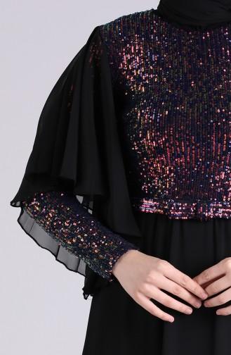 فساتين سهرة بتصميم اسلامي أحمر كلاريت 9536-02