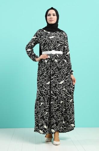 Robe Hijab Noir 0378-02
