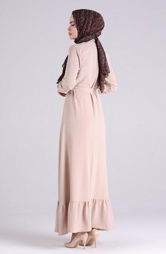 Robe Hijab Beige 5946-04