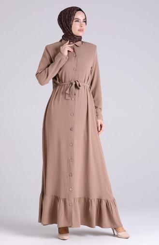 Nerz Hijap Kleider 5946-05