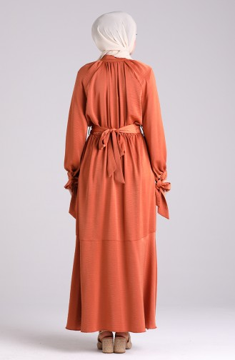 Robe Hijab Tabac 1050-01