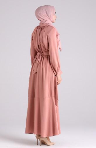 فستان باودر 1050-03