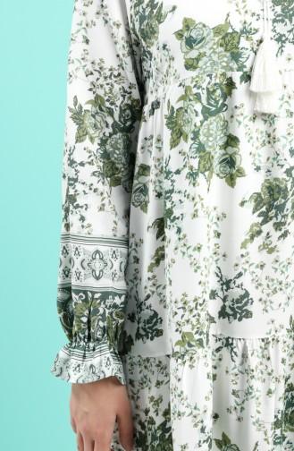 فستان كاكي 8099-02