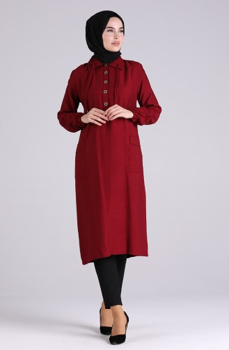 Claret red Tuniek 0043-06